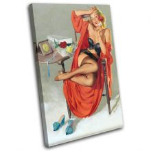 Vintage Girl Retro Pin-ups - 13-2041(00B)-SG32-PO